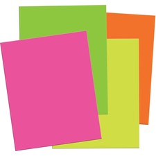 PAC 5517 Pacon Matte Neon Foam Boards PAC5517