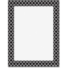 TEP 11425 Trend Moroccan Black Design Printer Paper TEP11425