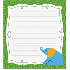 CDP 151082 Carson Parade of Elephants Notepad CDP151082