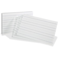 OXF 46002 Oxford Primary Ruled Index Cards OXF46002