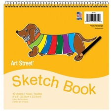 PAC 4750 Pacon Beginner's Sketch Book PAC4750