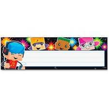 TEP 69254 Trend Block-stars! Children's Nameplates TEP69254