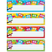 TEP 69910 Trend Owl-Stars Desktop Nameplates TEP69910