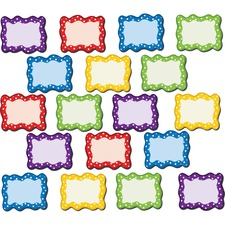 TCR 77210 Teacher Created Res. Polka Dots Blank Magnet Cards TCR77210