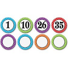 TCR 77211 Teacher Created Res. Dots/Numbers Magnetic Accents TCR77211