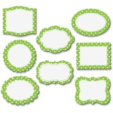 TCR 77219 Teacher Created Res. Lime/Dots Magnetic Frame TCR77219