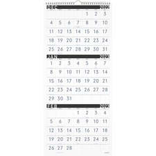 AAG PM11X28 At-A-Glance 3-mth Reference Vertical Wall Calendar AAGPM11X28