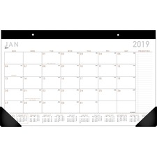 AAG SK14X00 At-A-Glance Contemporary Compact Desk Pad AAGSK14X00