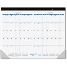AAG SK2MPG00 At-A-Glance 2-month View Calendar Desk Pad AAGSK2MPG00