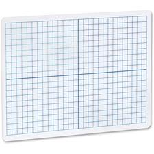FLP 11000 Flipside Prod. Grid/Plain 2side DryErase Lap Board FLP11000