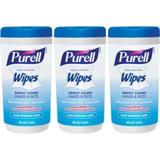 GOJ 912003EC GOJO Purell Hand Sanitizing Wipes Pack GOJ912003EC