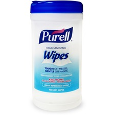 GOJ 912006CMR GOJO Purell Clean Scent Hand Sanitizing Wipes GOJ912006CMR