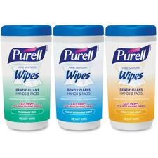 GOJ 912103EC GOJO Purell Hand Sanitizing Wipes Variety Pack GOJ912103EC