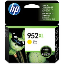 HP 952XL (L0S67AN) Original Ink Cartridge - Inkjet - High Yield - 1600 Pages - Yellow - 1 Each