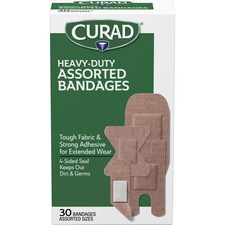 MII CUR14924RB Medline Curad Extreme Hold Assorted Bandages MIICUR14924RB