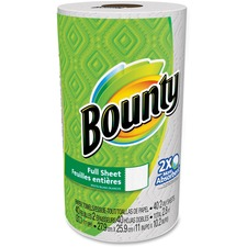 PGC 95028 Procter & Gamble Bounty Full Sheet Paper Towels PGC95028