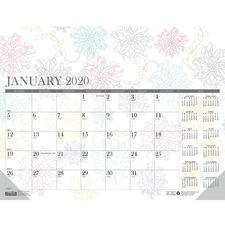 HOD 188 Doolittle Whimsical Doodle Monthly Desk Pad HOD188