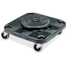 RCP 353000BK Rubbermaid Comm. Brute Square Container Dolly RCP353000BK