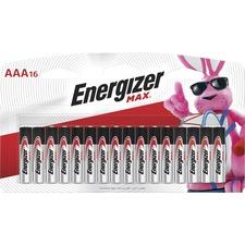 EVE E92LP16CT Energizer Max Alkaline AAA Batteries EVEE92LP16CT