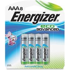 EVE XR92BP8CT Energizer EcoAdvanced AAA Batteries EVEXR92BP8CT