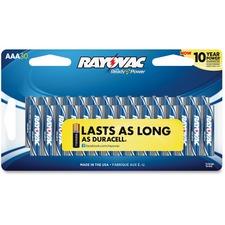 RAY 82430CTF2CT Rayovac Alkaline AAA Batteries 30-pack RAY82430CTF2CT