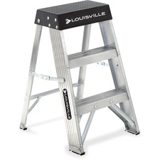 DAD AS3002 Louisville Ladders 2' Aluminum Step Ladder DADAS3002