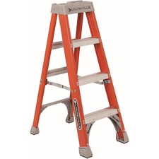 DAD FS1504 Louisville Ladders 4' Fiberglass Step Ladder DADFS1504