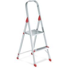 DAD L234602 Davidson Ladders 2' Aluminum Platform Step Stool DADL234602