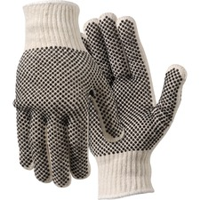 MCS 9660LM MCR Safety Poly/Cotton Large Work Gloves MCS9660LM