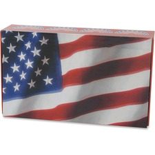AUA 980592 Aurora Prod. US Flag Pencil Box AUA980592