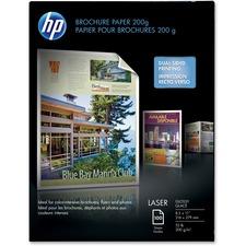 HEW Q6608ACT HP 52 lb Glossy Brochure Paper HEWQ6608ACT