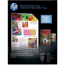 HEW Q6611ACT HP 40 lb Glossy Brochure Paper HEWQ6611ACT