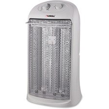 LLR 99844 Lorell 2-setting Portable Quartz Heater LLR99844