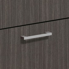BSX BLPBRIDGE Basyx BL Series Laminate Desk Polished Arch Pull BSXBLPBRIDGE