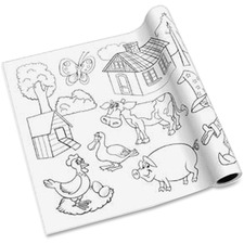 RTG 10230 Redi-Tag Self-adhesive Kid's Coloring Pages RTG10230
