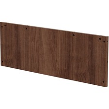 LLR 97610 Lorell Prominence Conf Table Walnut Modesty Panel LLR97610