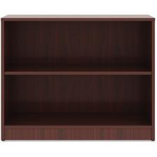 LLR 99778 Lorell Mahogany Laminate Bookcase LLR99778