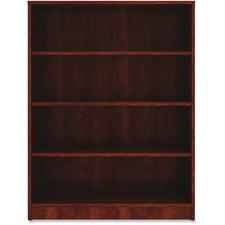 LLR 99785 Lorell Cherry Laminate Bookcase LLR99785