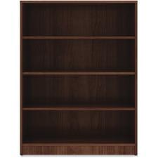 LLR 99786 Lorell Walnut Laminate Bookcase LLR99786