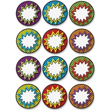 ASH 10059 Ashley Prod. Dry Erase Superhero Die-cut Magnets ASH10059