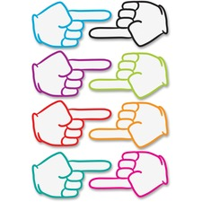 ASH 10091 Ashley Prod. Pointing Fingers Dry Erase Magnets ASH10091