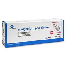 Konica Minolta Magenta Toner Cartridge for Magicolor 2300 Series