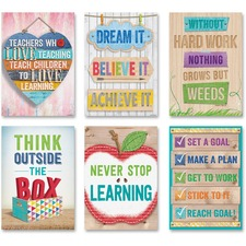 CTC 7284 Creative Teaching Press Inspire U Poster Pack CTC7284