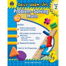 TCR 3576 Teacher Created Resources Gr 2 Daily Math Problems Book Printed Book