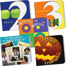 TCR 9545 Teacher Created Resources PreK Counting/Math 5-book Set Printed Book