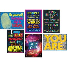 TEP A67928 Trend Self-esteem Posters Combo Pack TEPA67928