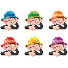 TEP T10640 Trend Monkey Hats Classic Accent Variety Pack TEPT10640