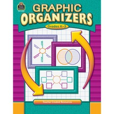 TCR 3207 Teacher Created Resources GrK-3 Graphic Organizer Book Printed Book