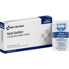 FAO 750013 First Aid Only Hand Sanitizer Packets FAO750013