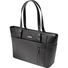 """Kensington 62850 Carrying Case (Tote) for 15.6"""" Notebook - Faux Leather - Handle"""